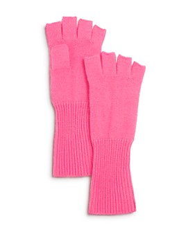 AQUA - Fingerless Cashmere Gloves - 100% Exclusive