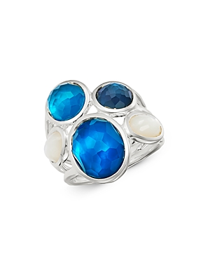 Ippolita Sterling Silver Wonderland Blue Moon Five-Stone Ring-Jewelry & Accessories