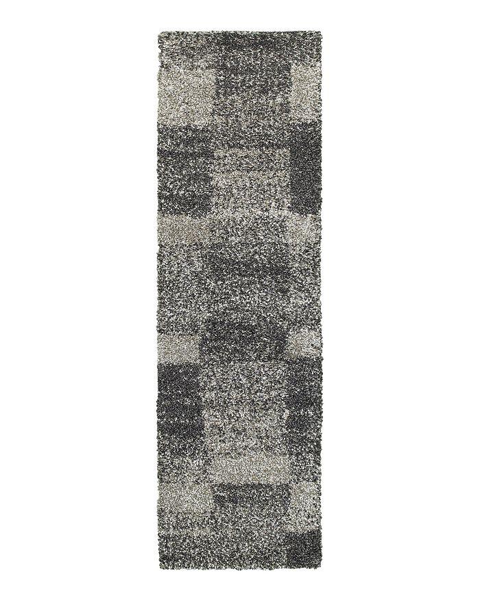 """Oriental Weavers - Henderson Shag 531Z Runner Rug, 2'3"""" x 7'6"""""""