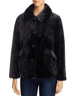kate spade new york - Faux Fur Short Coat