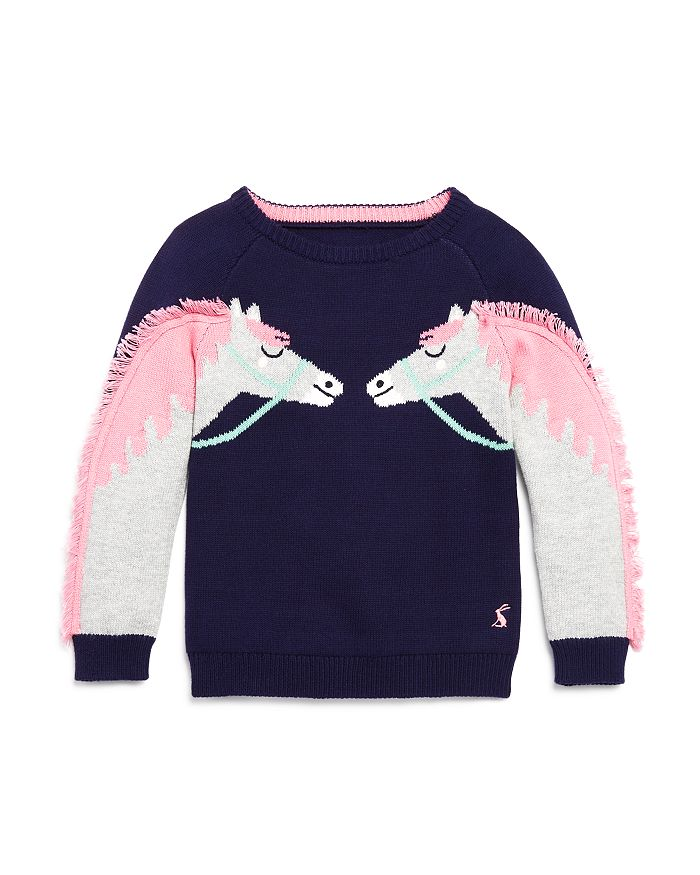 Joules - Girls' Geegee Horse Sweater - Little Kid
