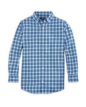 Vineyard Vines - Boys' Plaid Performance Button-Down Shirt - Little Kid, Big Kid