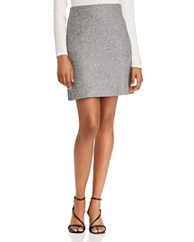Theory - Wool Blend Pencil Skirt