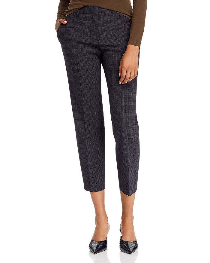 Theory - Wool-Blend Cropped Pants