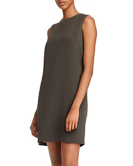Theory - Column Sleeveless Shift Dress