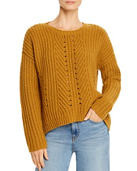 Eileen Fisher - Cashmere-Wool Boxy Sweater