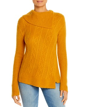 Design History - Asymmetric Cable Sweater