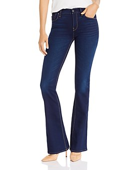 Hudson - Nico Mid-Rise Boot-Cut Jeans in Requiem