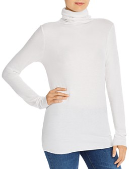 AG - Chels Lightweight Turtleneck Tee