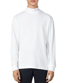 Sandro - Mike Mock-Turtleneck T-Shirt