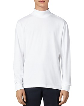 Sandro - Mike Mock-Turtleneck T-Shirt
