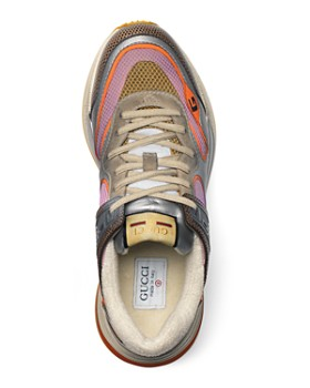 Gucci - Men's Ultrapace Retro Mixed-Material Sneakers