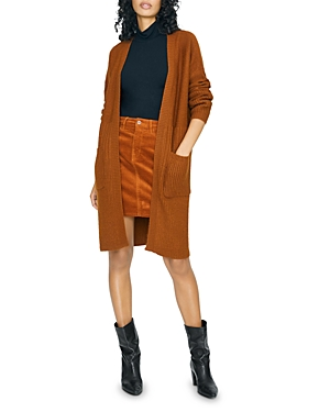 Sanctuary Knits MIXED-KNIT DUSTER CARDIGAN