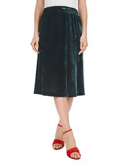 Gerard Darel - Paneled Velvet Skirt