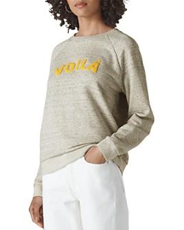 Whistles - Voilà Logo Sweatshirt