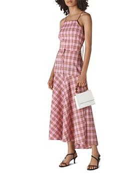 Whistles - Julietta Checkered Strappy Dress