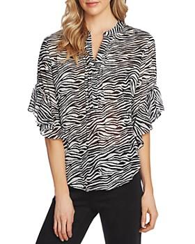 VINCE CAMUTO - Zebra-Print Top