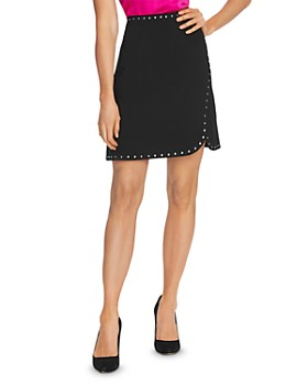 VINCE CAMUTO - Studded Mini Skirt