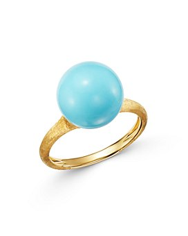 Marco Bicego - 18K Yellow Gold Ring with Turquoise