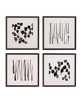 Bassett Mirror - Monochrome Gestures V Wall Art
