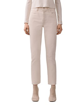 AGOLDE - Remy High Rise Straight-Leg Jeans in Paper