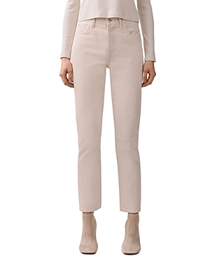 Agolde Remy High Rise Straight-Leg Jeans in Paper-Women
