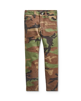 Ralph Lauren - Boys' Sullivan Slim Fit Camo Jeans - Little Kid
