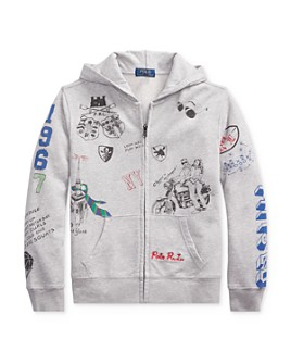 Ralph Lauren - Boys' Graphic Hoodie - Big Kid