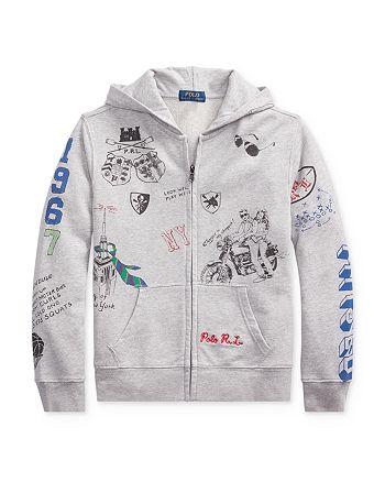 Ralph Lauren - Boys' Graphic Hoodie - Big Kid