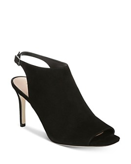 Via Spiga - Women's Terese Peep-Toe Booties