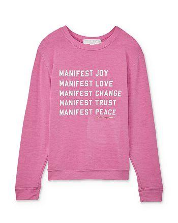 Spiritual Gangster - Girls' Manifest Sweatshirt - Big Kid