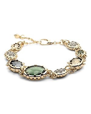 Alexis Bittar Modern Georgian Stone Link Bracelet