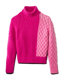 Andersson Bell - Alto Combo Turtleneck Sweater