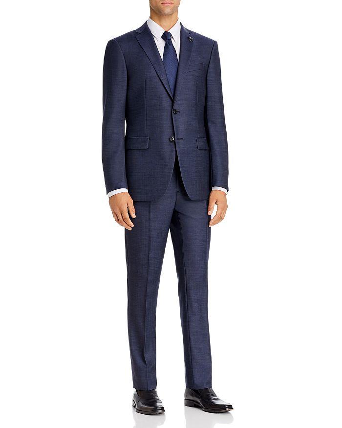 John Varvatos Star USA - Twill Solid Slim Fit Suit Separates
