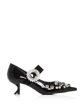 Jeffrey Campbell - Women's Otelia-J Embellished Pointed-Toe Pumps