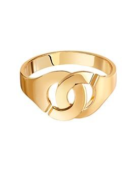 Dinh Van - 18K Yellow Gold Menottes Ring
