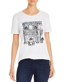 KARL LAGERFELD Paris - Sketch Graphic Tee