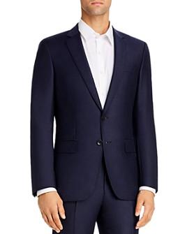 BOSS - Huge Flannel Slim Fit Suit Jacket