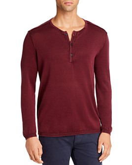 John Varvatos Star USA - Long-Sleeve Henley