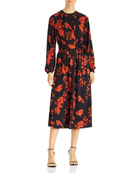Tory Burch - Printed Jersey Midi Dress