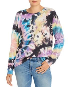 MOTHER - The Hugger Tie-Dye Sweatshirt
