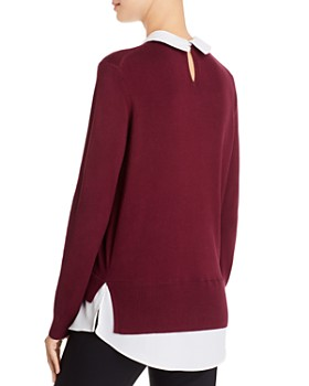 Ted Baker - Liaylo Sparkle Collar Sweater - 100% Exclusive