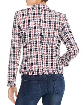 AQUA - Plaid Tweed Blazer - 100% Exclusive