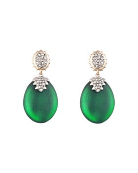 Alexis Bittar - Modern Georgian Pavé Drop Earrings