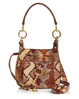 See by Chloé - Tony Small Snake-Print Crossbody