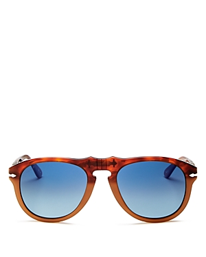 Persol Men's Aviator Sunglasses, 52mm
