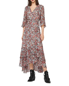 ALLSAINTS - Delana Wilde Floral Wrap Dress