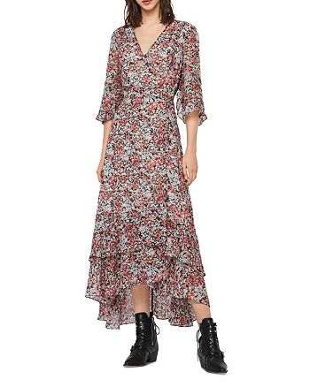 ALLSAINTS - Delana Wilde Floral Wrap Dress