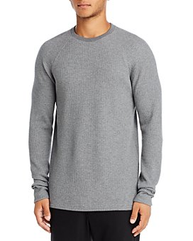 Theory - River Waffle Knit Organic Cotton Sweater