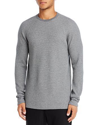 Theory - River Waffle Knit Organic Cotton Sweater